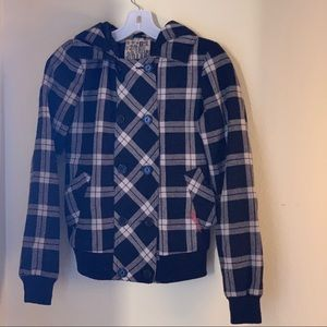 Billabong wool button up jacket